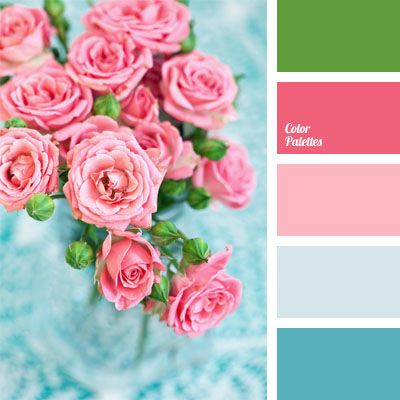 shades of pink and blue | Color Palette Ideas