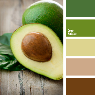 Shades Of Green And Brown Color Palette Ideas