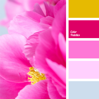 pastel colors and contrasting color palette ideas