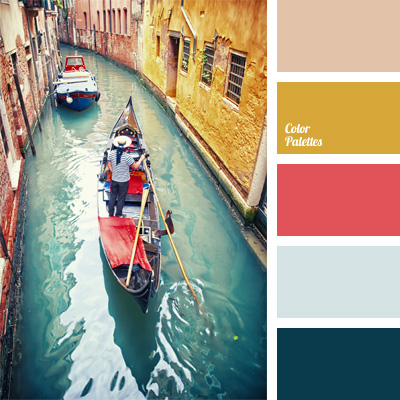 Blue And Mustard Yellow Color Palette Ideas