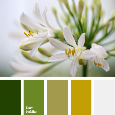 Mustard Green Color Palette Ideas