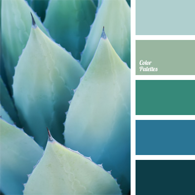 Turquoise And Cyan Color Palette Ideas