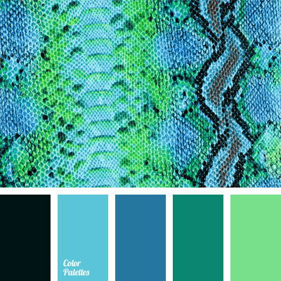Bright blue color color palette ideas Blue and green colour scheme