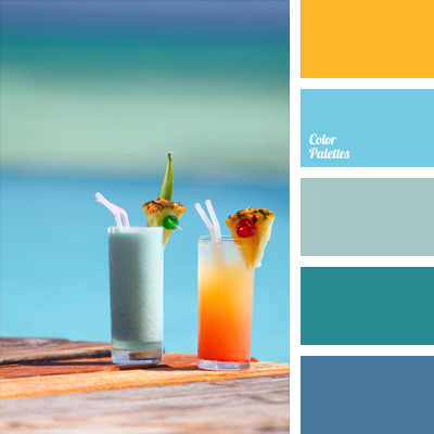 tropical color palette