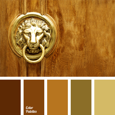 color of dull gold | Color Palette Ideas