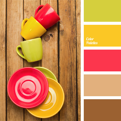 Color Composition For The Interior Design