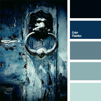Monochrome Dark Blue Color Palette Color Palette Ideas