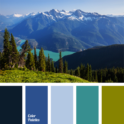 Mountain Lake Color Color Palette Ideas