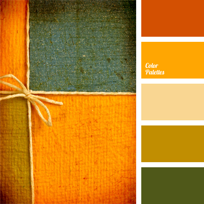 Combination Of Green And Orange Color Palette Ideas