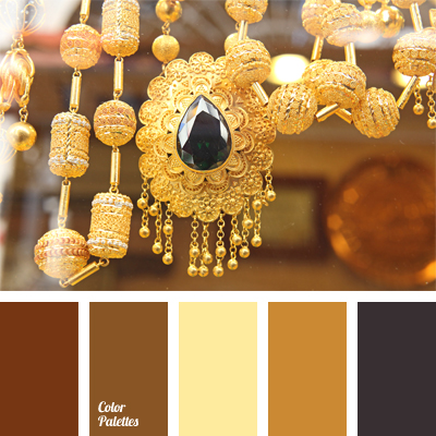 color of golden jewelry Color Palette Ideas