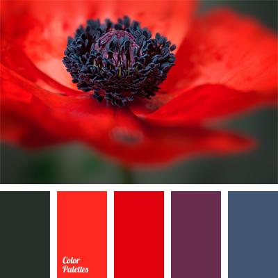 Red Color Schemes deep red | color palette ideas