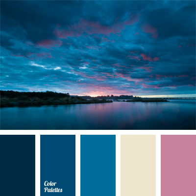 Colors of pink sunset color palette ideas for Ocean blue color combinations