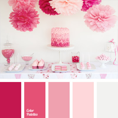 Pink color palettes tag color palette ideas Good color combination for pink