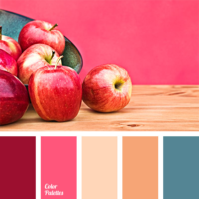 Deep blue and burgundy color palette ideas - Peach color paint palette ...