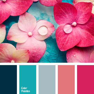 Pink And Aqua Room Decor