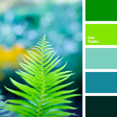 Color Palette 848