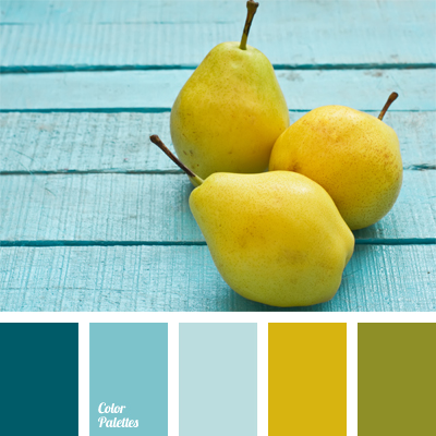 Gallery for olive green and yellow color palette - Yellow and blue paint scheme ...