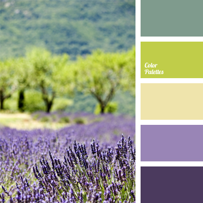 Colors Of Provence Color Palette Ideas