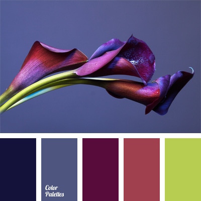 dark indigo color palette ideas