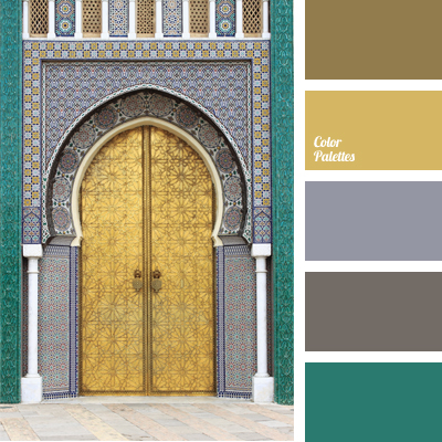 Dirty Yellow Color Palette Ideas