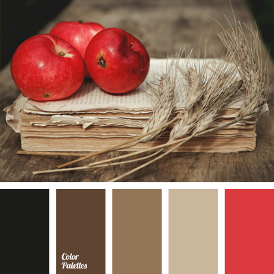 Pastel shades of brown page 5 of 6 color palette ideas - Red black color combination ...