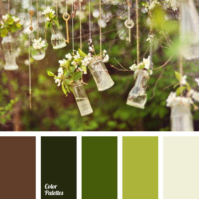 Color Palette 1035 Brown And Green