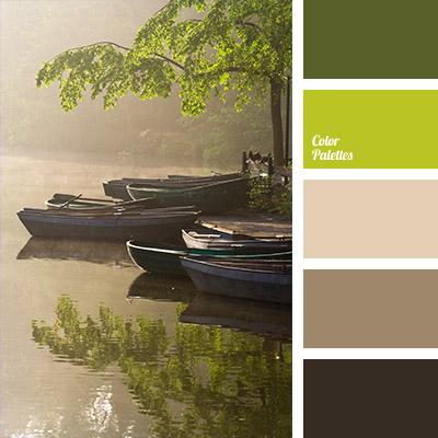 dark green and dark brown | Color Palette Ideas