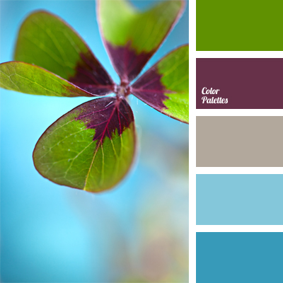 color palette 966 - Clover Color
