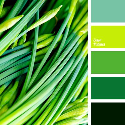 Dark Spring Green Color Palette Ideas