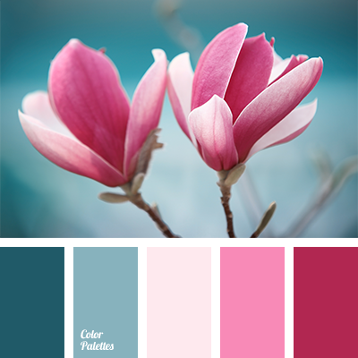 Colour combination for early spring color palette ideas Good color combination for pink