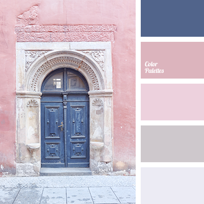 Pastel dark blue color palette ideas Good color combination for pink