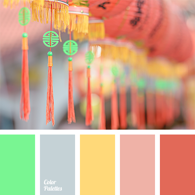 Pastel Shades pastel shades of coral | color palette ideas