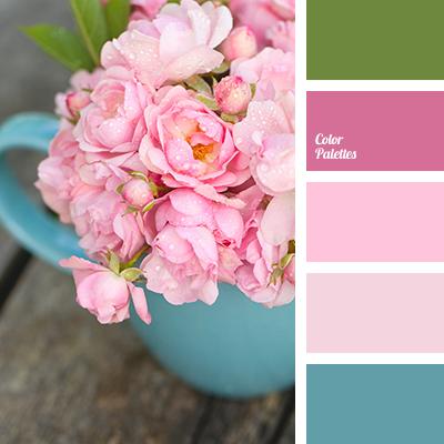 Color Of Pink Rose