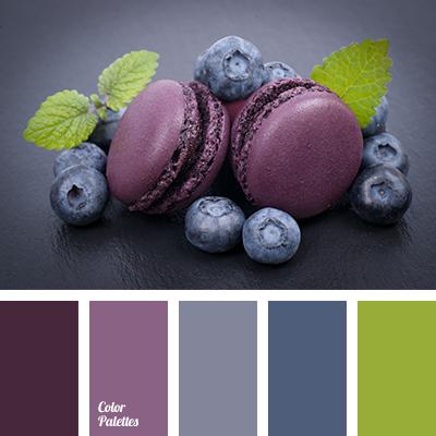 Blueberry Blue Color Palette Ideas