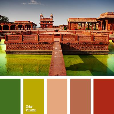 Color Palette 1283 Brick Red