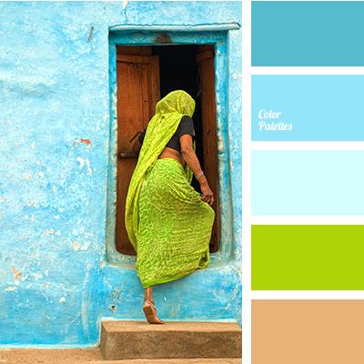 Neon Blue Color Palette Ideas