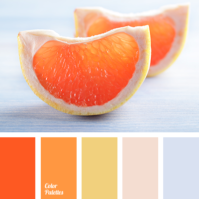 deep orange and orange color palette ideas