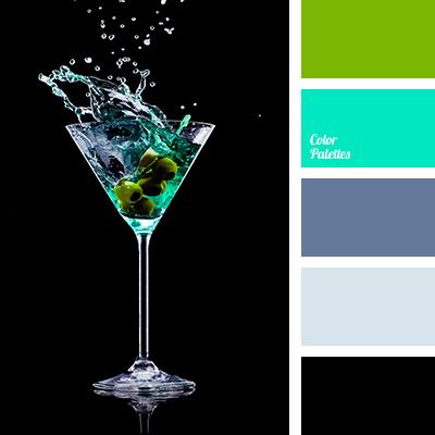 Color Palette 1366 Black And Light Green