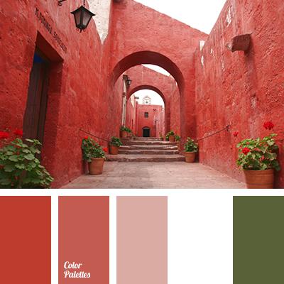 Color Palette 1410 Brick Red