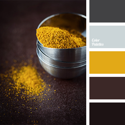 Yellow And Shades Of Brown Color Palette Ideas
