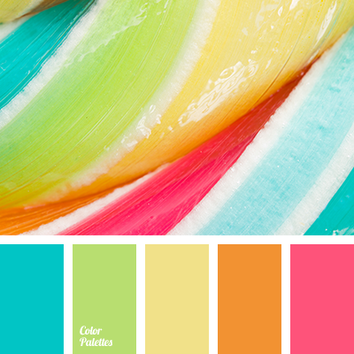 light green and magenta color palette ideas