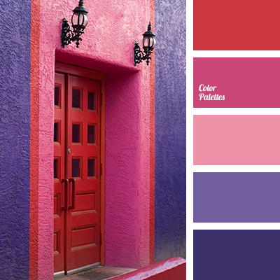Purple Color Schemes pink and purple | color palette ideas