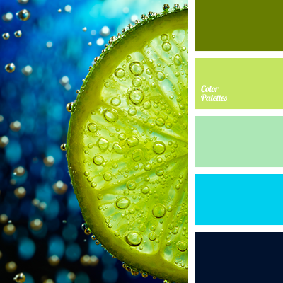 Colour Combination For Living Room In Blue