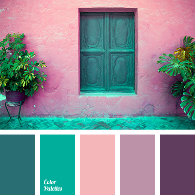 dark green color palette pink and emerald green color palette ideas