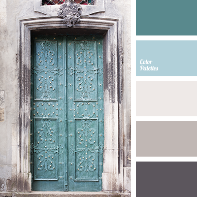 Pastel shades of dark blue and blue color palette ideas for Blue gray paint palette