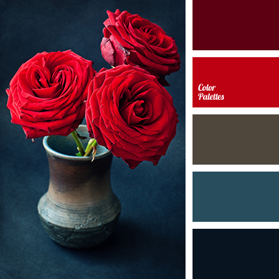 Burgundy and dark blue color palette ideas - Burgundy and blue color scheme ...