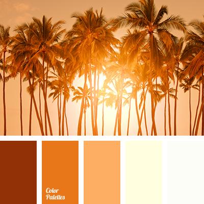 burnt orange | color palette ideas