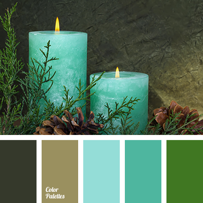 Turquoise Shades Color Palette Ideas