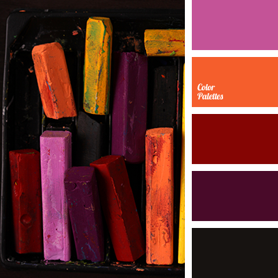 Burgundy and eggplant color palette ideas for Oriental colour palette