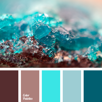 Turquoise And Brown Wall Decor